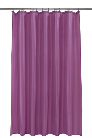 Berry Shower Curtain Including 12 Rings