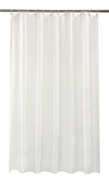 Cream Shower Curtain Including 12 Rings