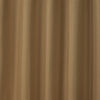 Waffle Gold Textured Pencil Pleat Lined Readymade Curtains - TO CLEAR