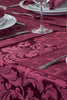 Cadiz Damask Berry Red Tablecloth Mega Bargain Package Sets