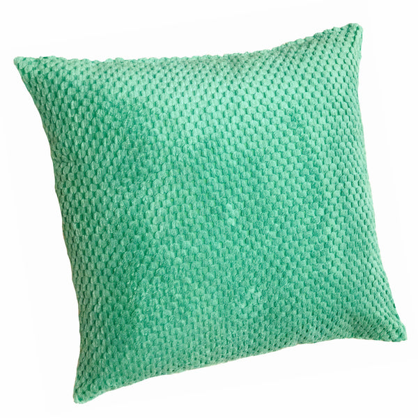 Chenille Spot Pistachio Textured Cushion Cover - CLEARANCE PRICE