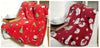Twin Pack Santa And Snowman Design Christmas Throwover/Blanket