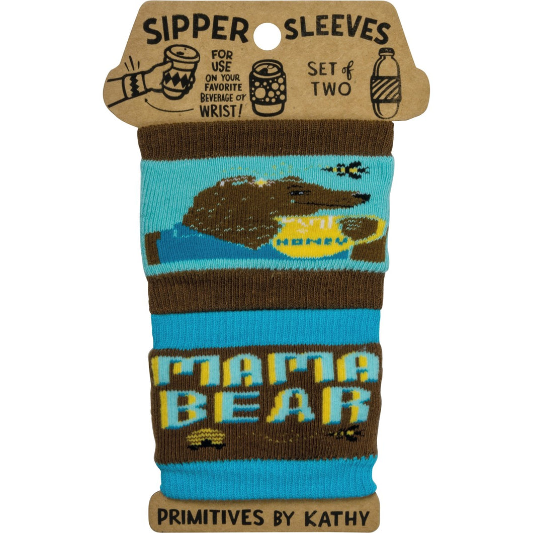 Mama Bear Sipper Sleeve