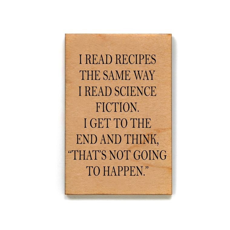 Read Recipes Magnet