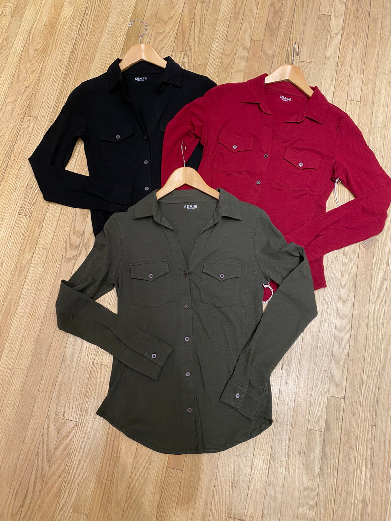 Shirt Buttons Long Sleeve