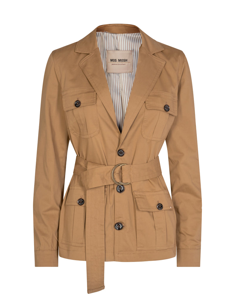 Riva Cole Cotton Belted Jacket