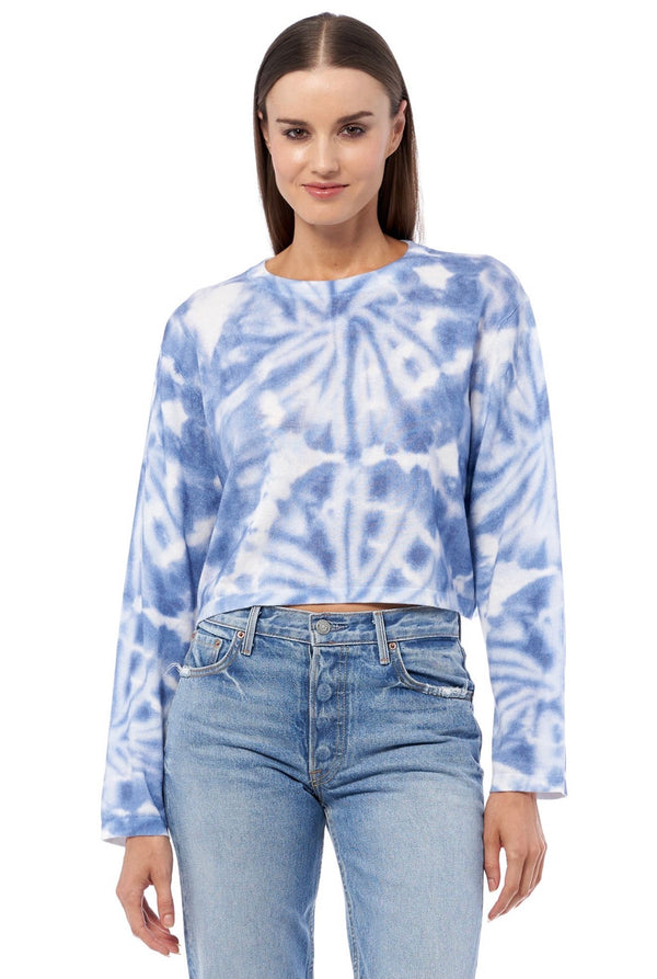 BLAKE Tie Dye Crew Neck Sweater