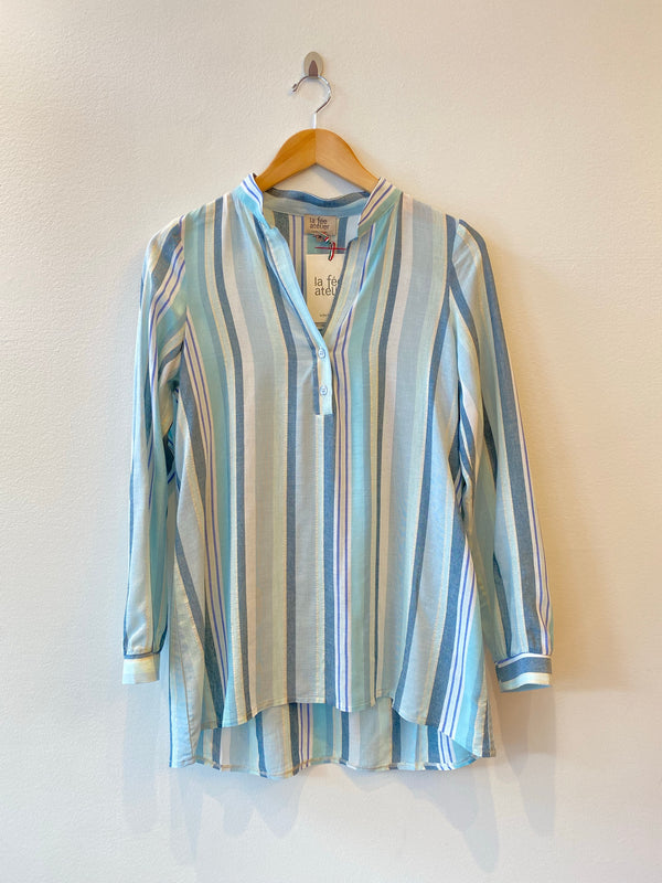 Button Stripe Shirt Louise