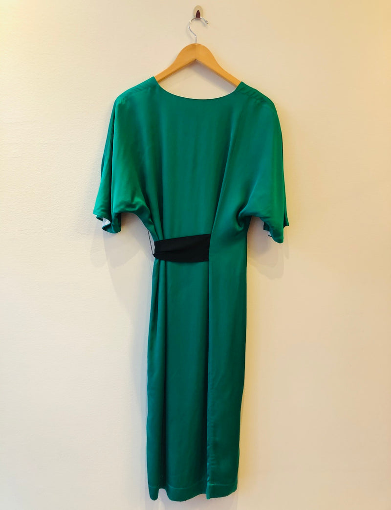 Dress Satin with Belt