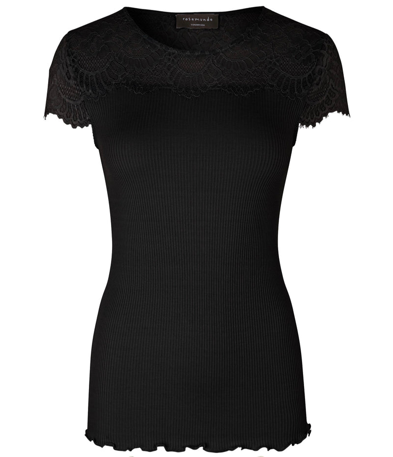 Top Short Sleeves with Lace details