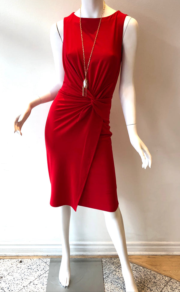 Dress Sleeveless with Front Detail