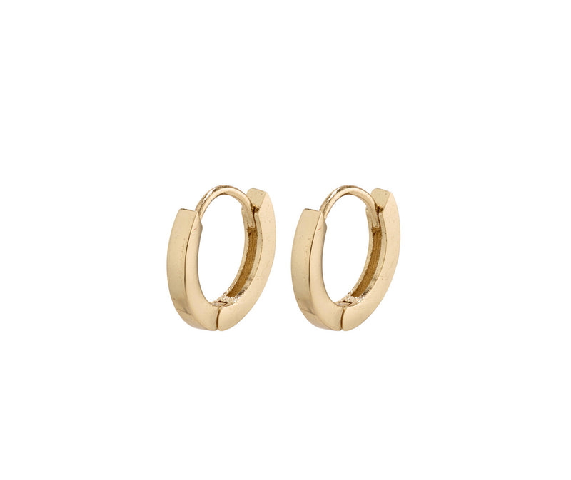 Arnelle mini hoops Earrings Gold Plated