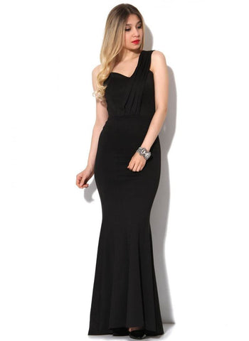 Vavin ONE SHOULDER DRESS - Black