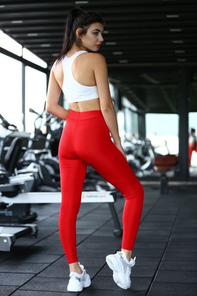 Basic Red Tights