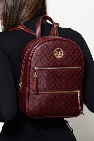 Claret Red Backpack