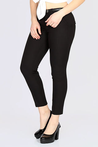 Pocket Fabric Pants