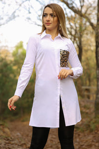 Faux Pocket Tunic