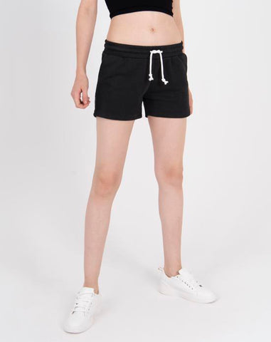 Pocket Black Shorts
