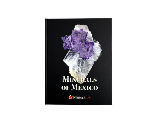 MINERALS OF MÉXICO BOOK sku:10162
