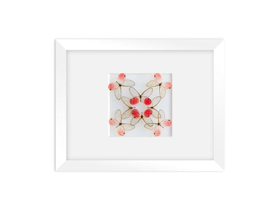 CUADRO HOME DECOR DE 8 MARIPOSAS