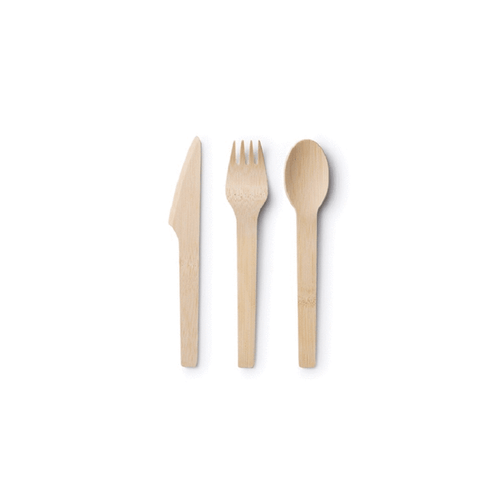 Bamboo Cutlery Pack for garden party, private event and catering