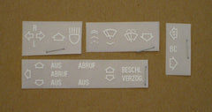 e34/e36 Instrument Decal Set BMW (Euro)