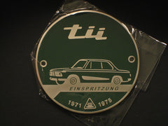Metal Badge 'Einspritzung' Tii