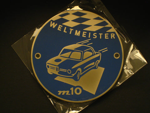 ETCC Badge BMW 2002