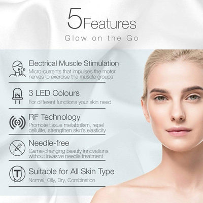 BeautyVee™ 5 IN 1 LED Light Facial Therapy