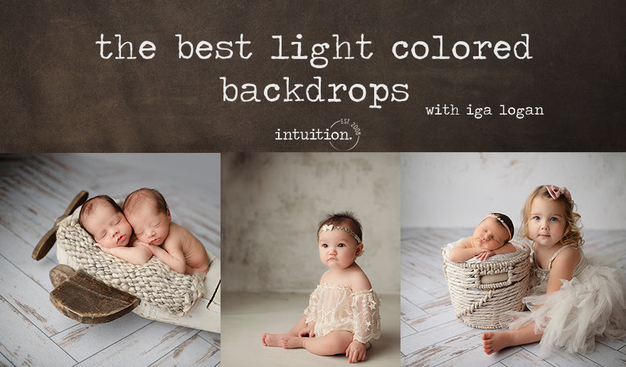 The Best Light-Colored Backdrops with Iga logan