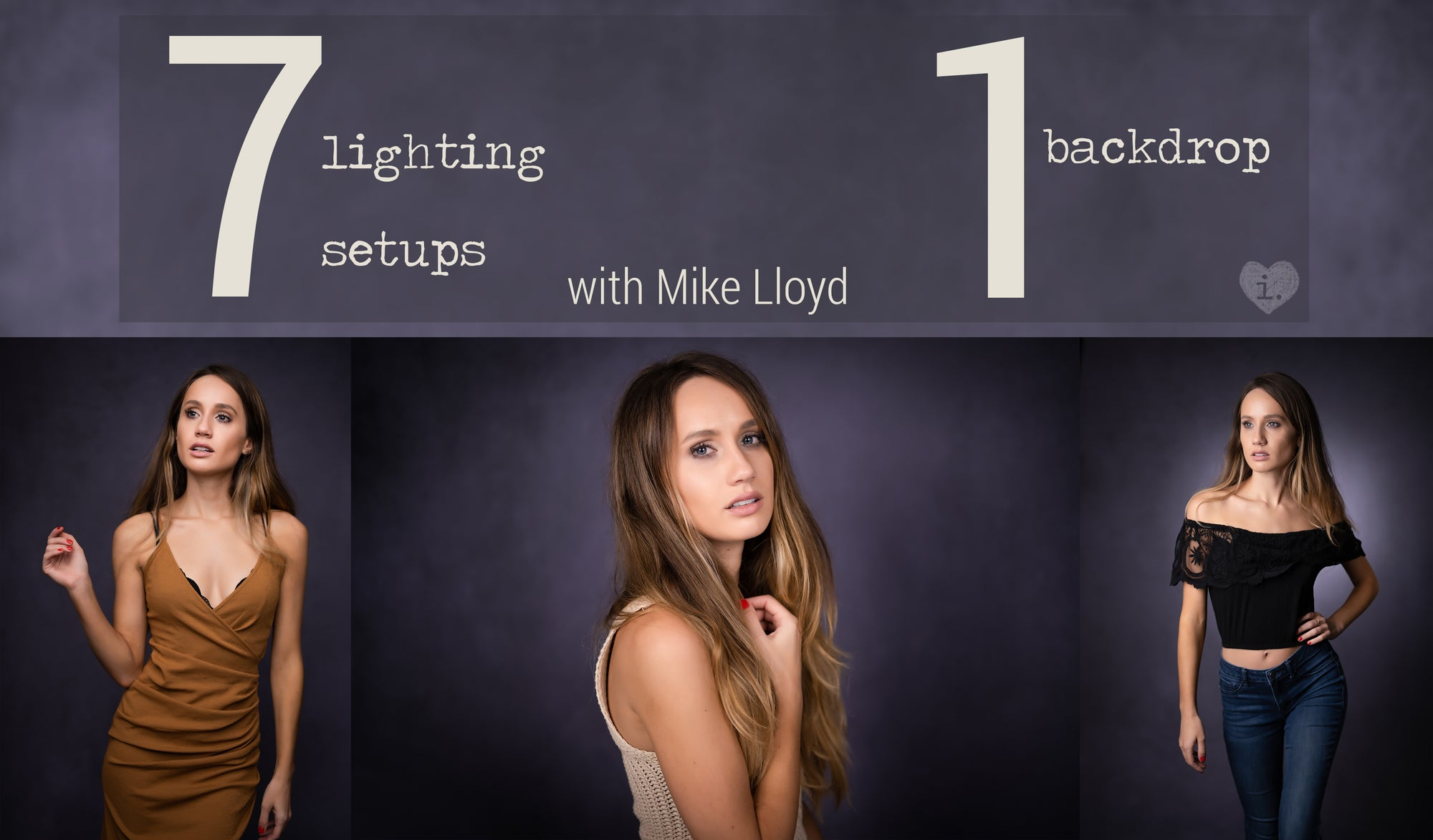 7 Lighting Set-Ups | 1 Backdrop with Mike Lloyd