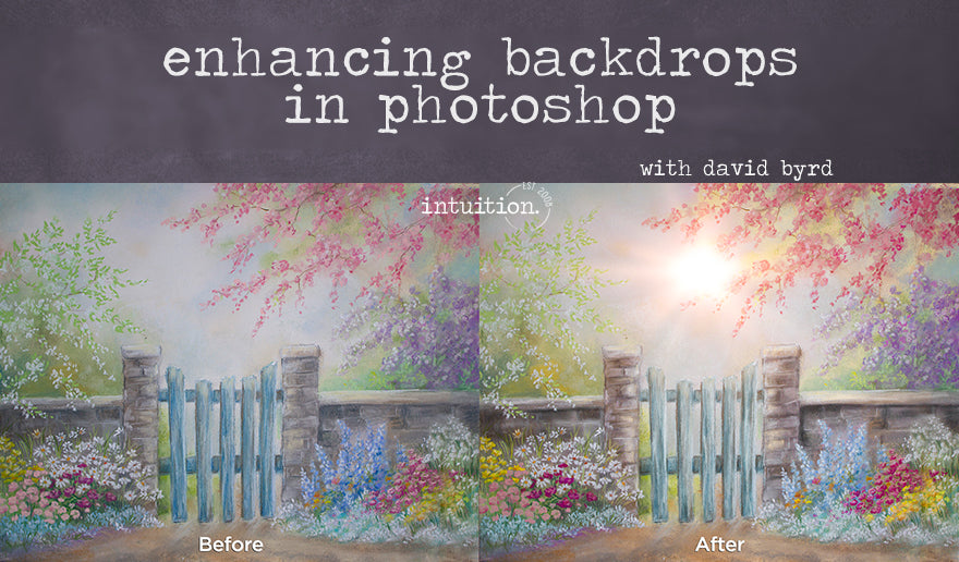 Enhancing Backdrops in Photoshop