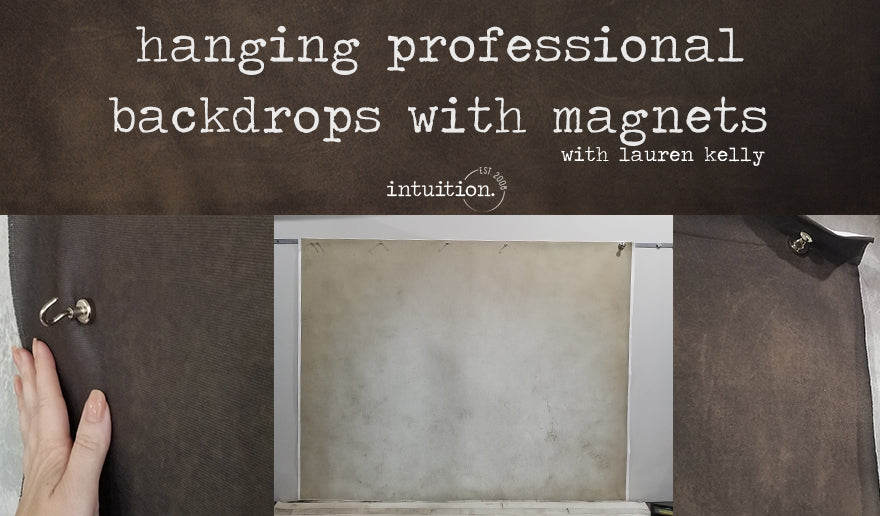 Hanging Professional Backdrops with Magnets