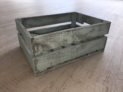 Hand Painted Wooden Crates