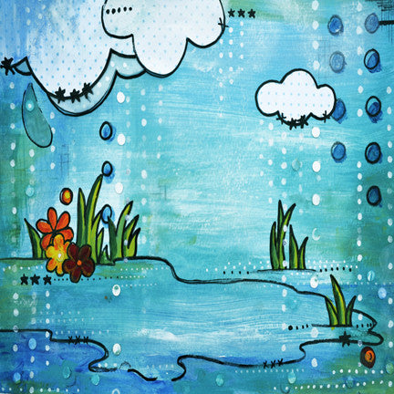 April Showers Intuition Backgrounds