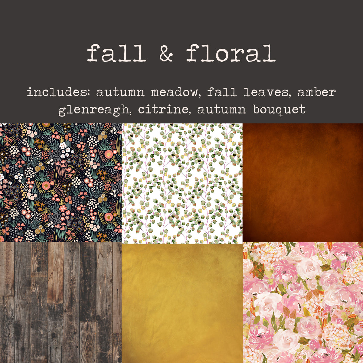 To-Go Pack - Fall & Floral