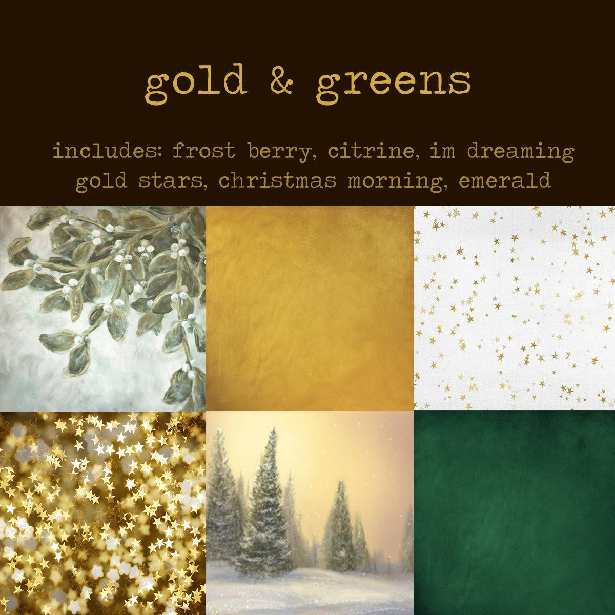 To-Go Pack - Gold & Greens