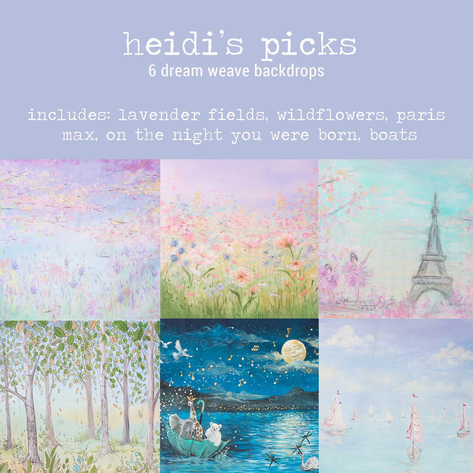 To-Go Pack - Heidi's Picks