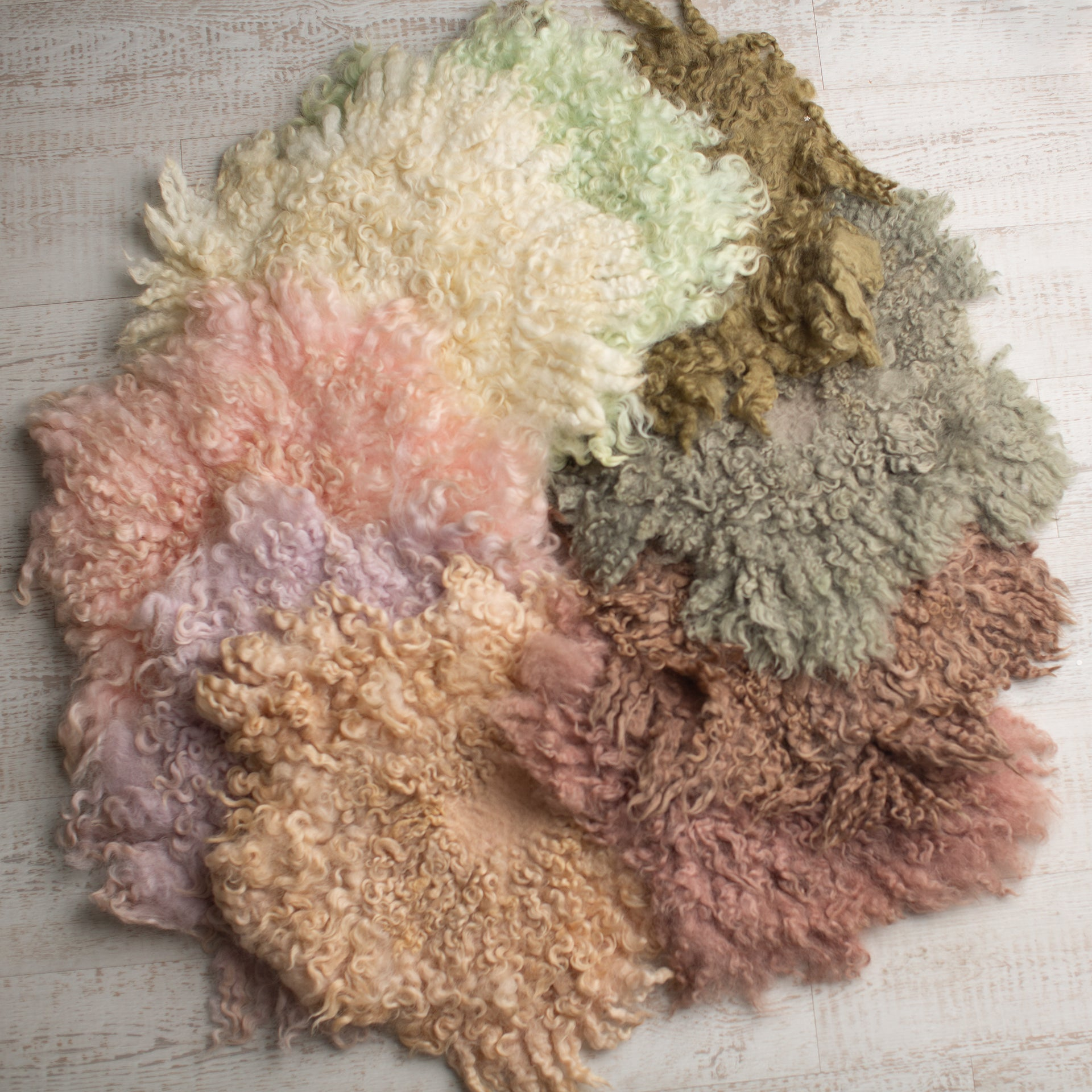 Wool Curly Layer Rugs