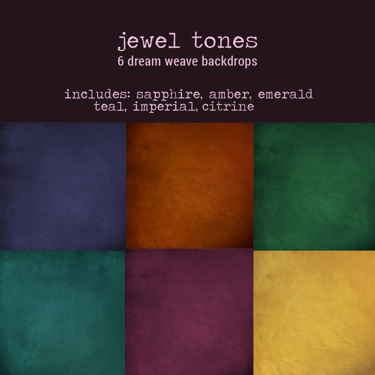 To-Go Pack - Jewel Tones