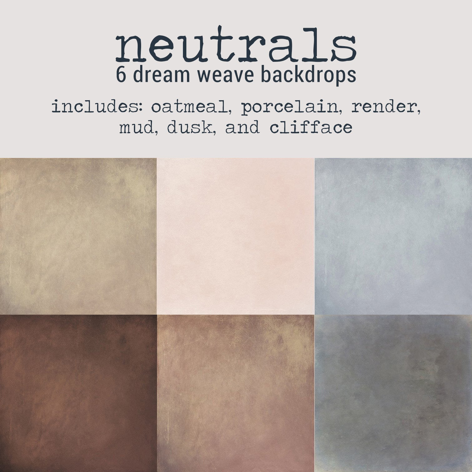 To-Go Pack - Neutrals