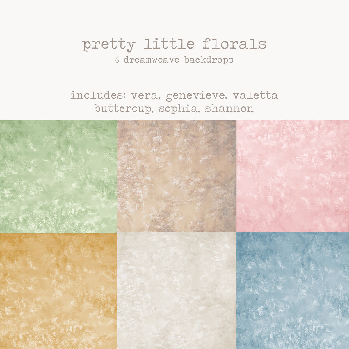 To-Go Pack - Pretty Little Florals