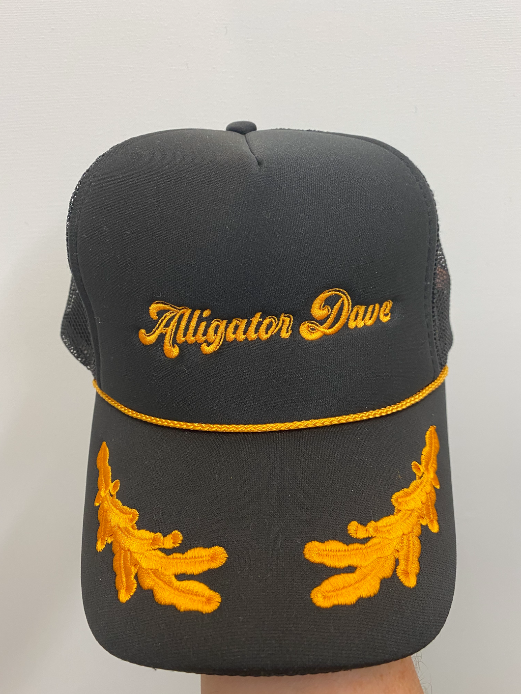Alligator Dave Trucker Hat!