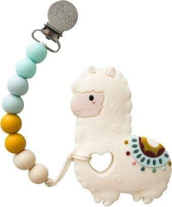 Giftsmith DYOG Silicone Teether Set Llama