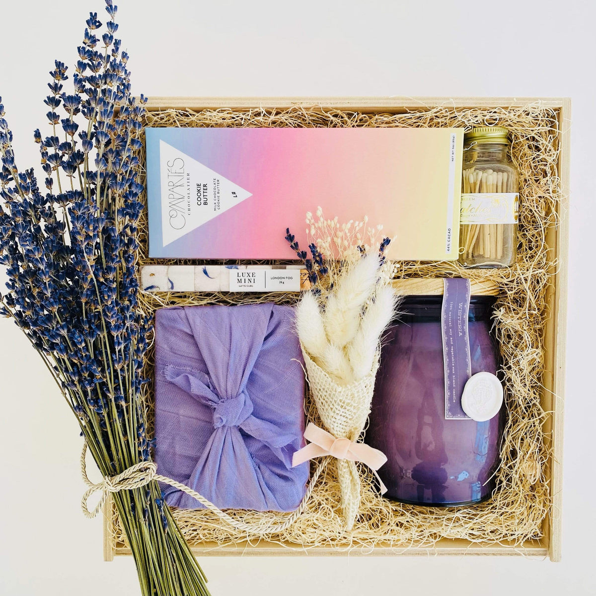 Giftsmith Featured The Wisteria Wish Mother's Day Pamper Spa London Fog Tea Candle