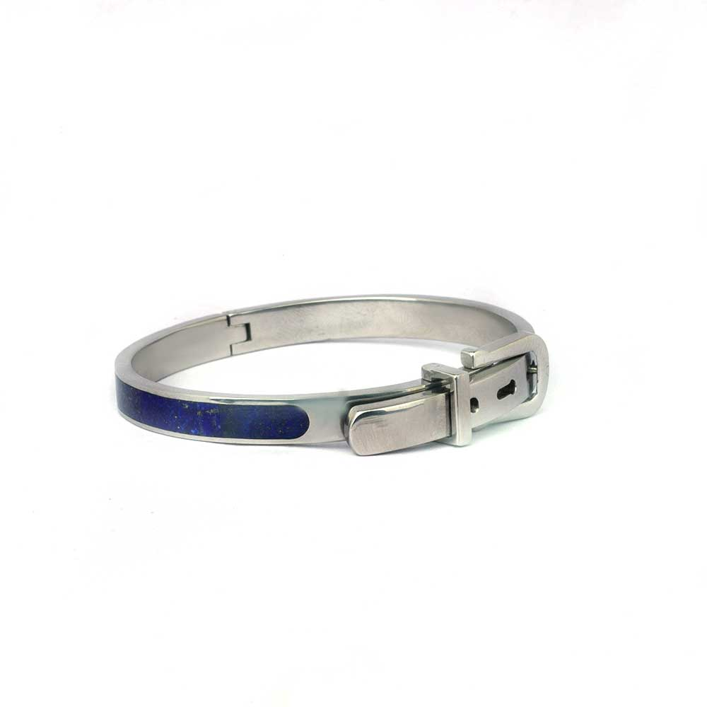 Glaze Buckle Bangle