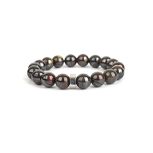 Load image into Gallery viewer, Gemstone bracelet for men, tiger iron bracelet