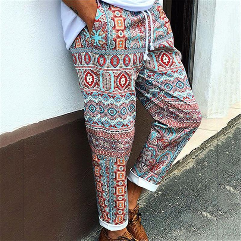 Ethnic Style Casual Pants