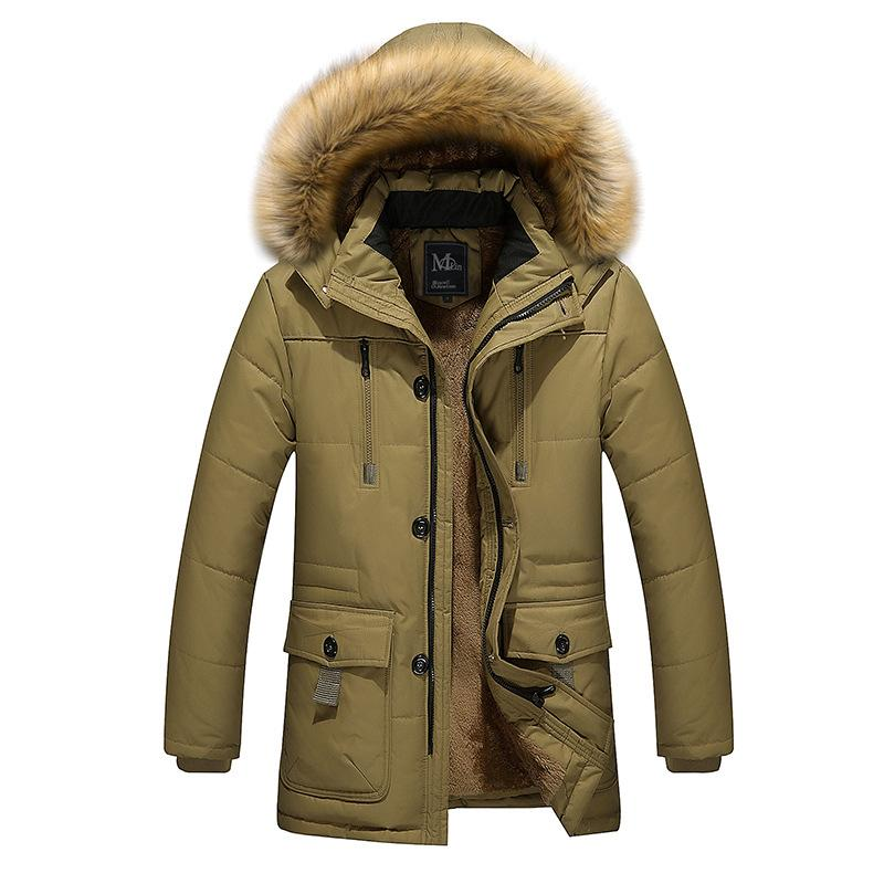 Winter Men 's Jacket Large Size Men' S Padded Jacket Thickening Cotton Short Winter Clothes