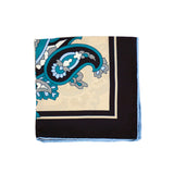 Capri Paisley Pocket Square